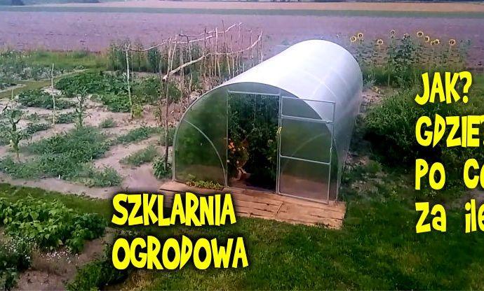 Szklarnia ogrodowa Alfa, szklarnia z poliwęglanu, cieplarnia, foliak, szklarnia poliwęglan