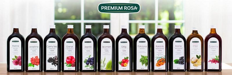 Premium Rosa - soki bio, syropy, suplementy, herbatki dl dzieci, soki nfc