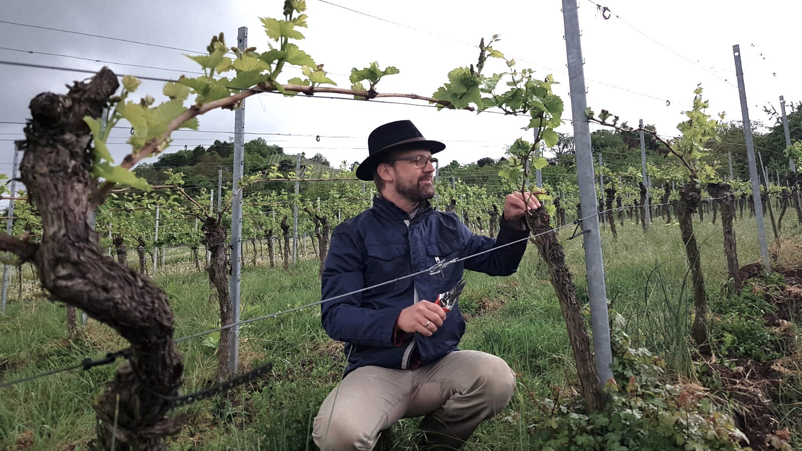 Unser Sommelier Andreas Lutz