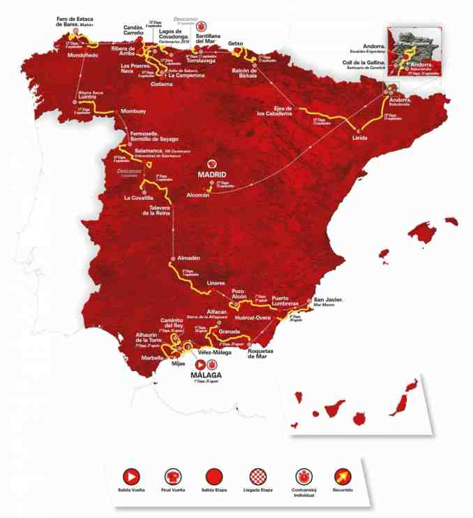 wielrenschoenen-nl Vuelta-2018-overall-map