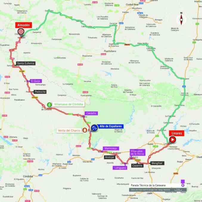wielrenschoenen-nl Vuelta-2018-route-etappe 8