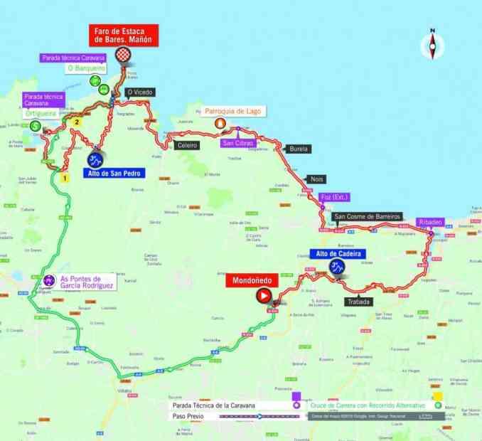 wielrenschoenen-nl Vuelta-2018-route-etappe 12