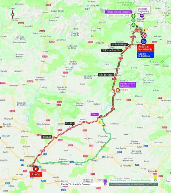 wielrenschoenen-nl Vuelta-2018-route-etappe 19