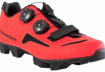 wielrenschoenen-nl MTB schoenen vrouwen+XC+500+rood los -MTB-schoenen voor de gemiddelde vrouwelijke mountainbiker