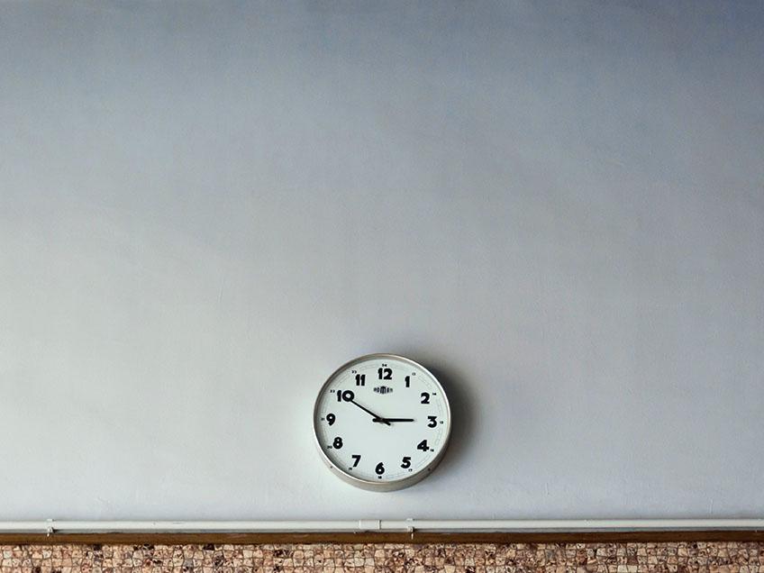 Zeit Anzeige