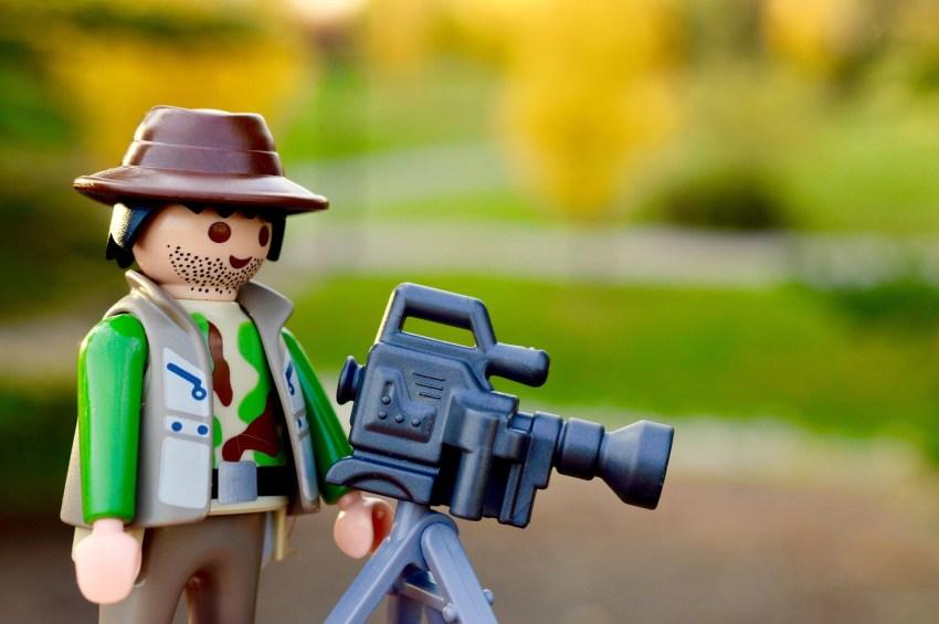 Playmobil Kameramann