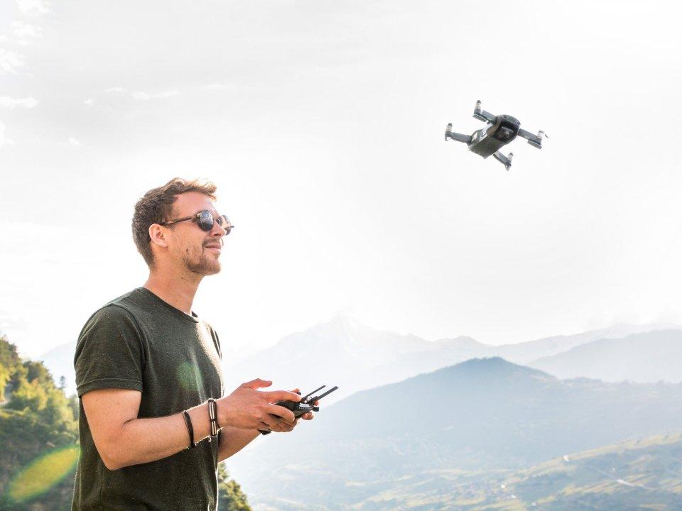 Drohnen pilot
