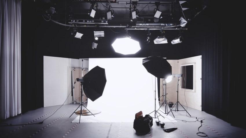 Beleuchtung im Studio