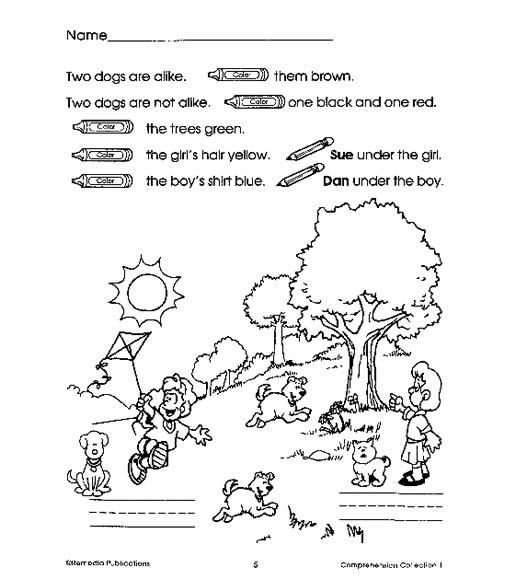 Comprehension Collection Grade 1