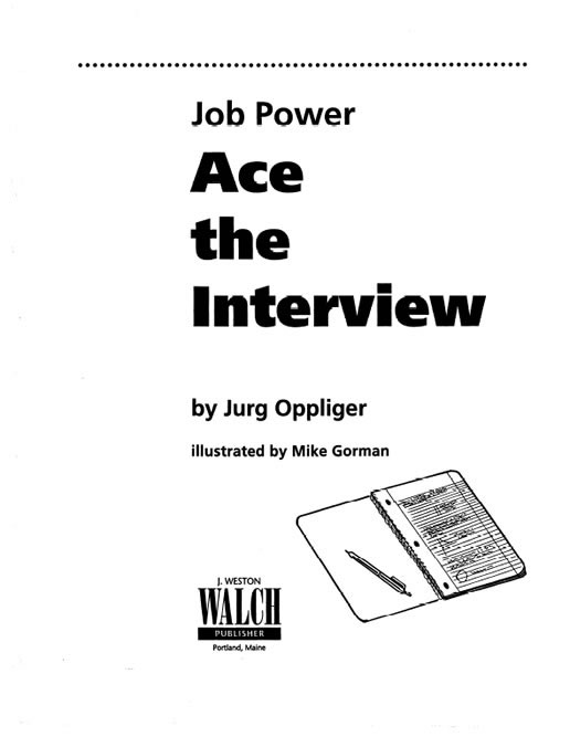 Job Power: Ace the Interview