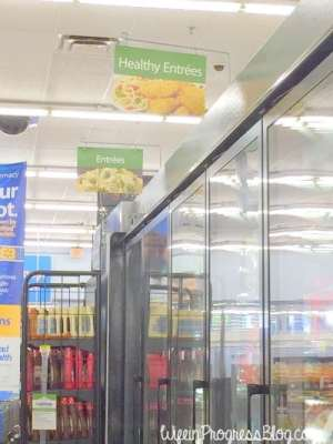Stouffers Entreés at Walmart
