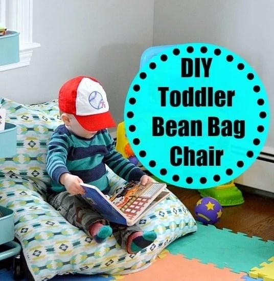 DIY Toddler Bean Bag Chair  Wife in Progress