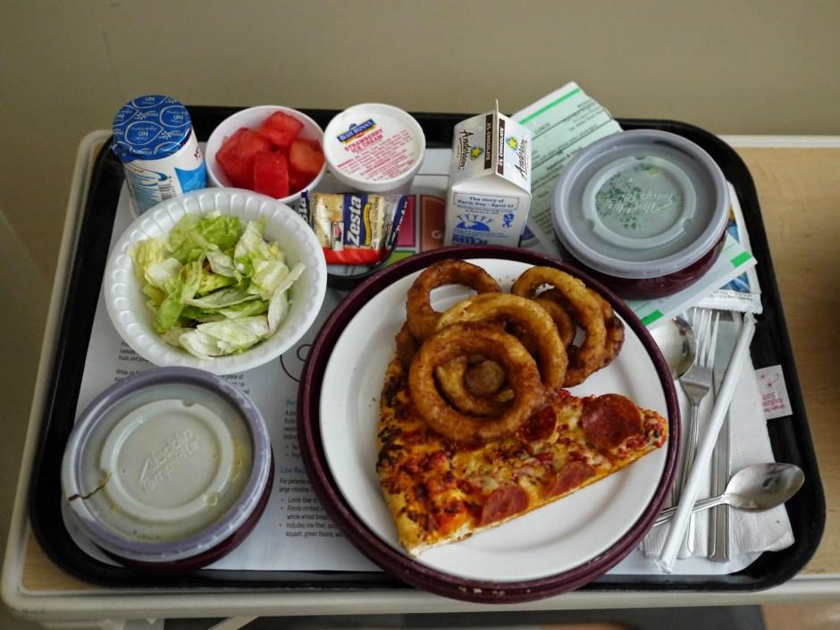 hospital lunch