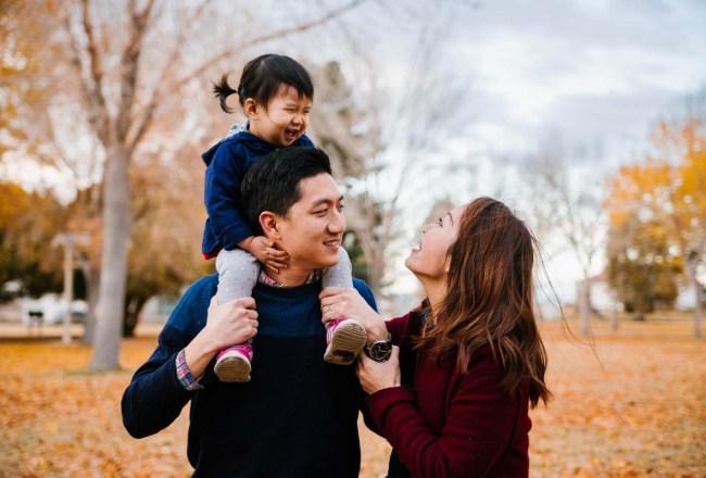 拉斯維加斯家庭照