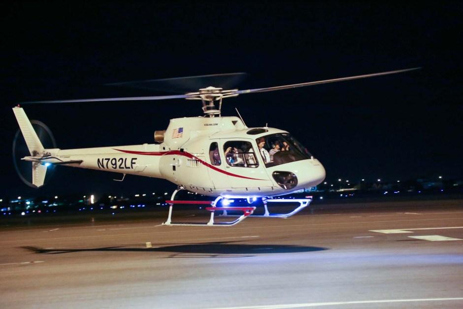 las vegas Strip helicopter tour
