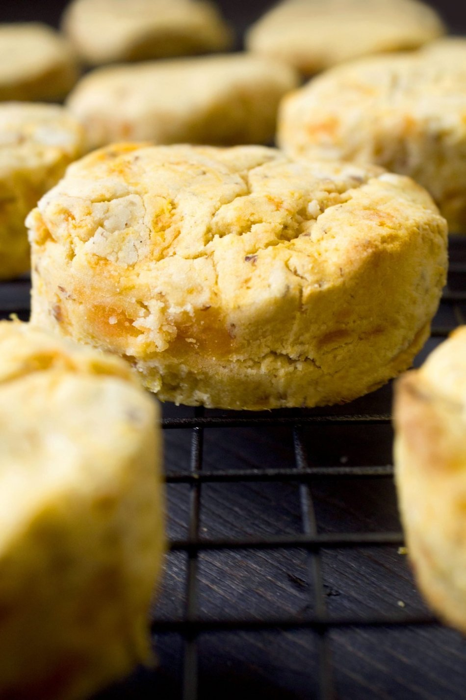 Sweet Potato Biscuits With Cinnamon Butter {Gluten-Free, Vegan Friendly}