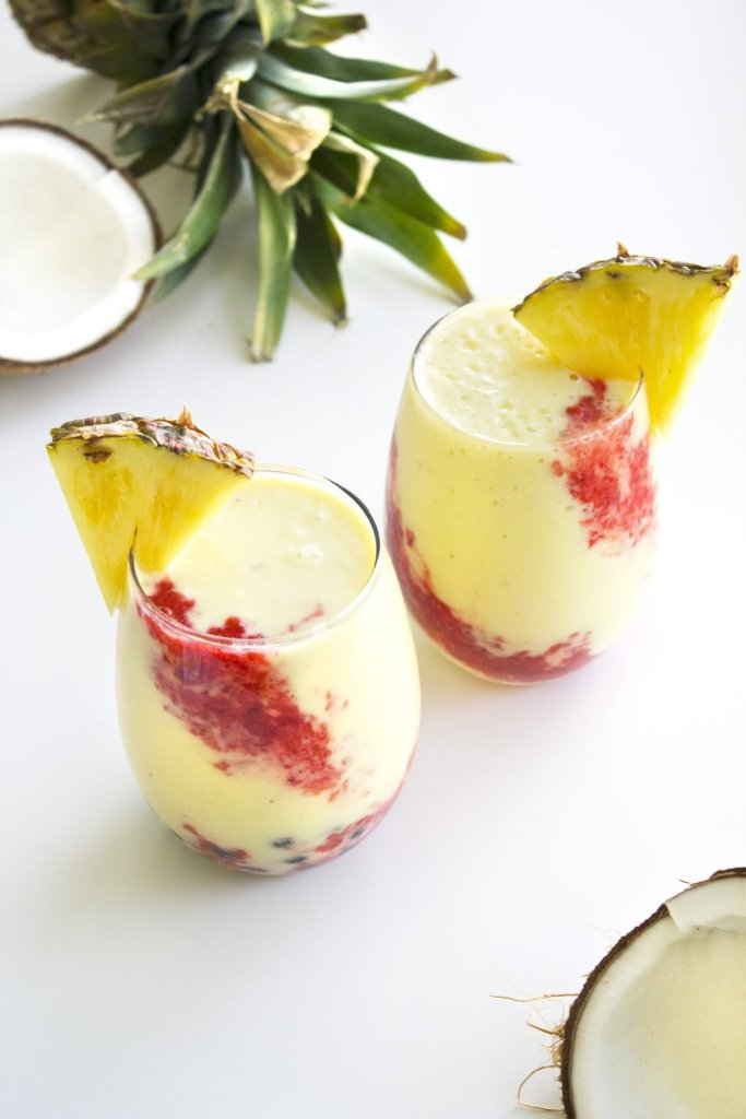 Aloha Bubble Smoothie With Pineapple