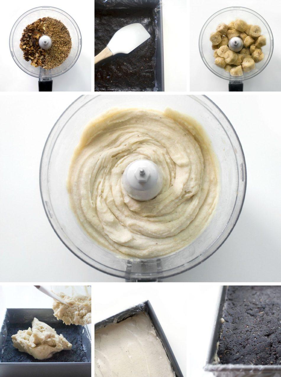 Chunky Monkey Nice Cream Bars | Raw, vegan, & grain-free