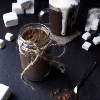 Dairy-Free Hot Cocoa Mix In a Jar