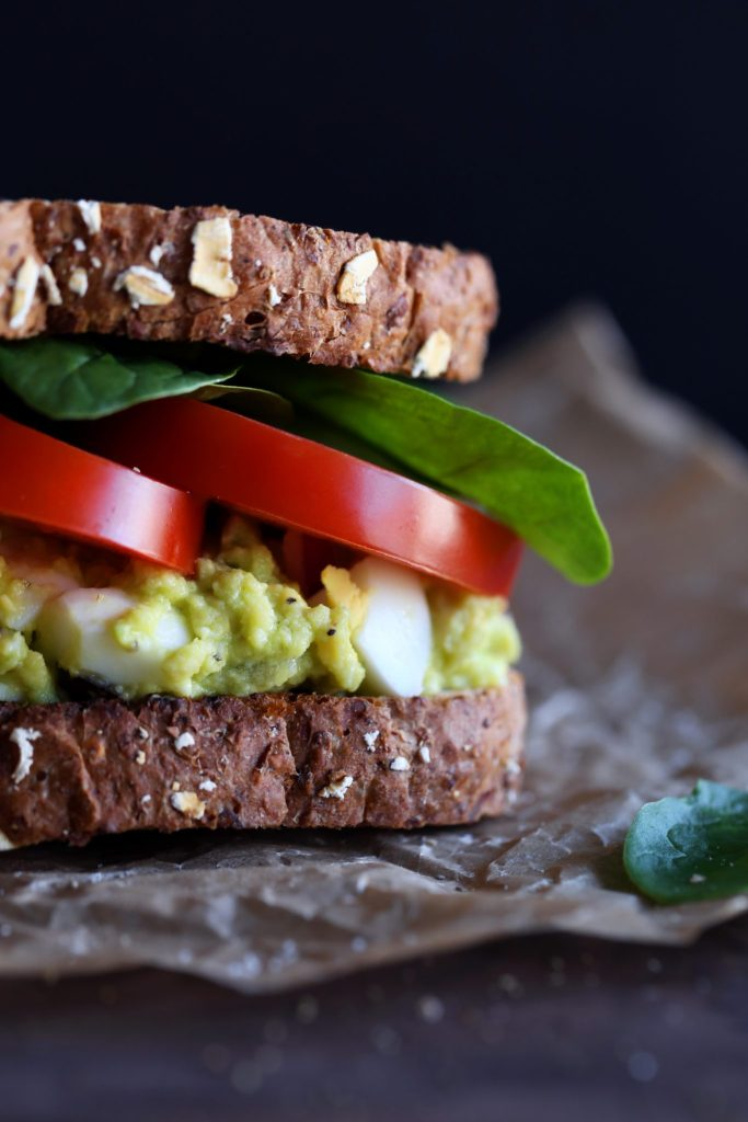 Avocado Egg Salad Sandwiches Wifemamafoodie