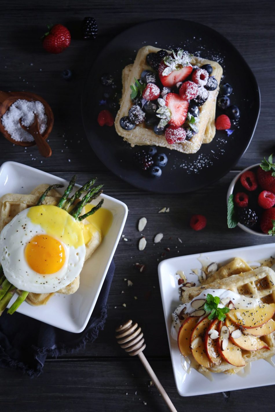 Sweet or Savory Waffles | Free of gluten, dairy, and refined sugar | Wife Mama Foodie