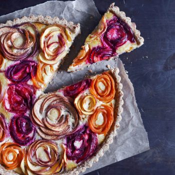 Stone Fruit Almond Tart