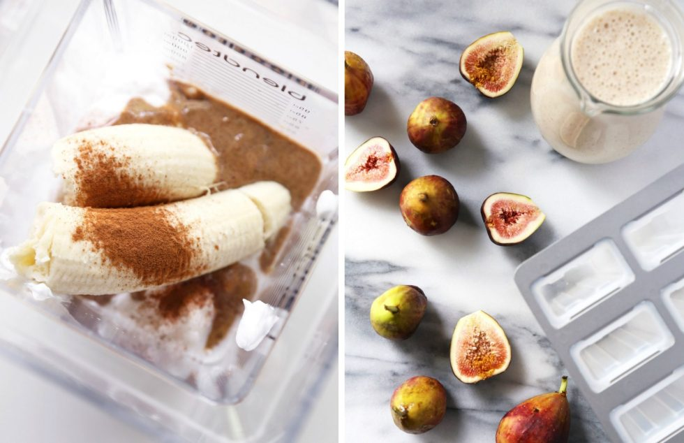 Creamy Coconut Fig Popsicles | Free of dairy, gluten, and refined sugar. Vegan friendly.