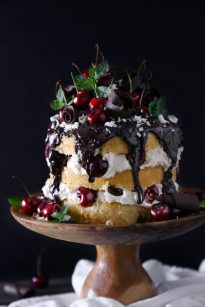 White Forest Cake Wife Mama Foodie