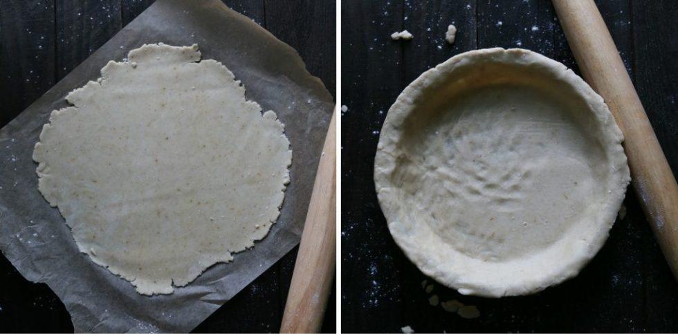 Simple Peach Pie {gluten, dairy, & refined sugar free}