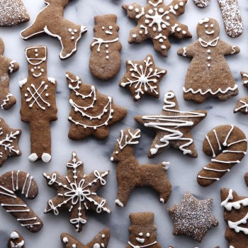 Gluten & Refined Sugar Free Gingerbread Cookies