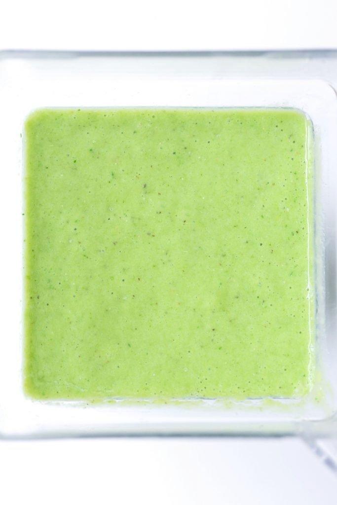 Green Vanilla Citrus Smoothie | Dairy-free and Vegan Friendly
