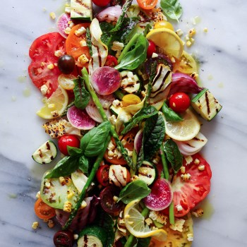 Heirloom Tomato & Grilled Veggie Salad