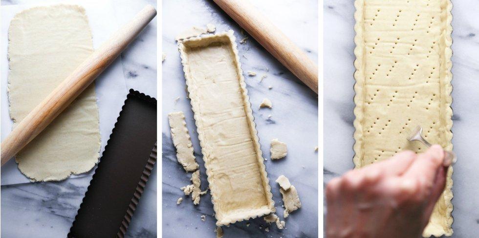 Ombré Rhubarb Tart | Gluten & Dairy Free