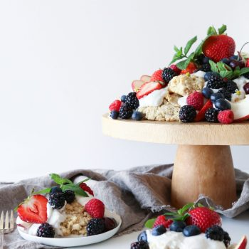 Oat Shortcakes with Summer Fruit