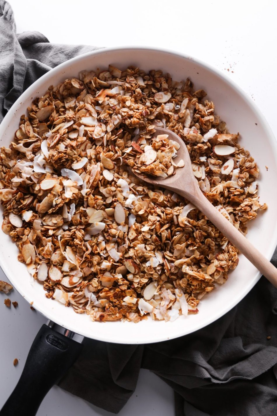 5-Minute Skillet Granola | Wife Mama Foodie