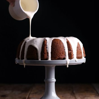 Vegan Pumpkin Bundt Cake
