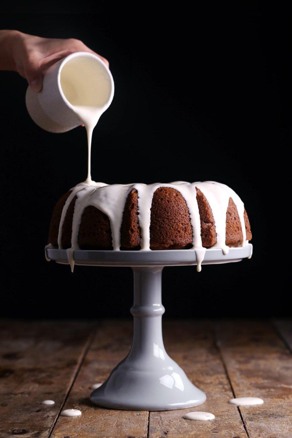 Vegan Pumpkin Bundt Cake | Wife Mama Foodie