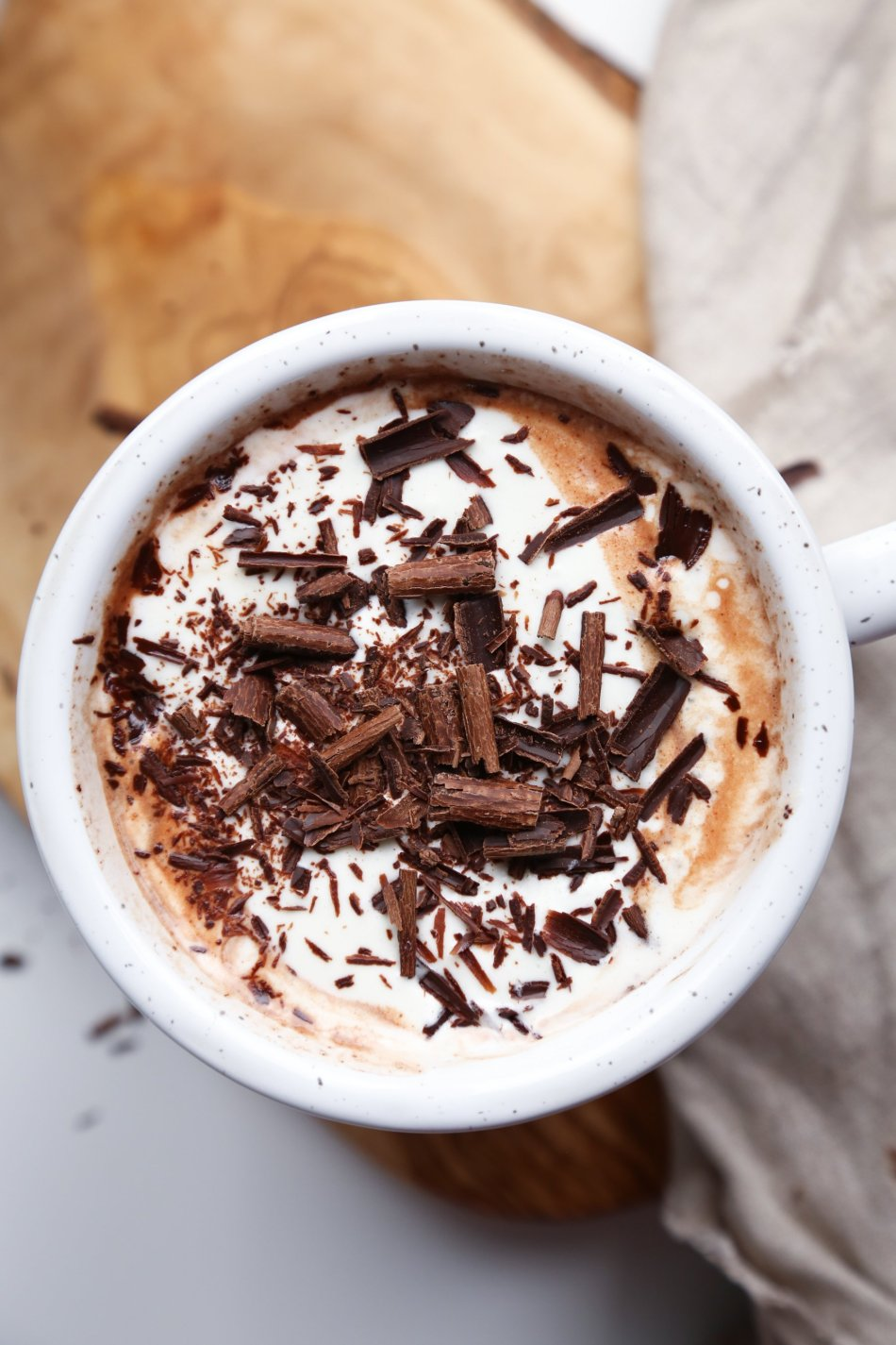 Easy Hot Chocolate | Paleo & Vegan Friendly | Wife Mama Foodie
