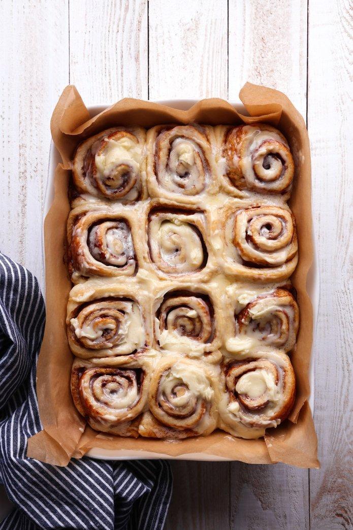 Simple Cinnamon Rolls Wife Mama Foodie