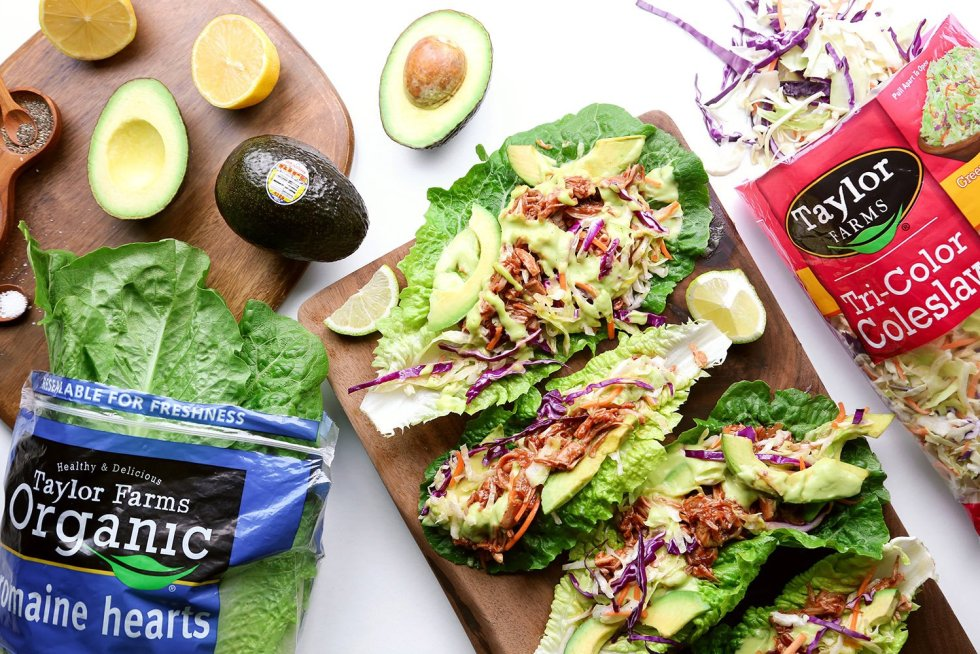 Vegan Lettuce Wraps and Avocado Spring Rolls with Peanut Sauce | Wife Mama Foodie
