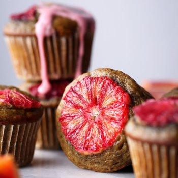Blood Orange Spelt Muffins