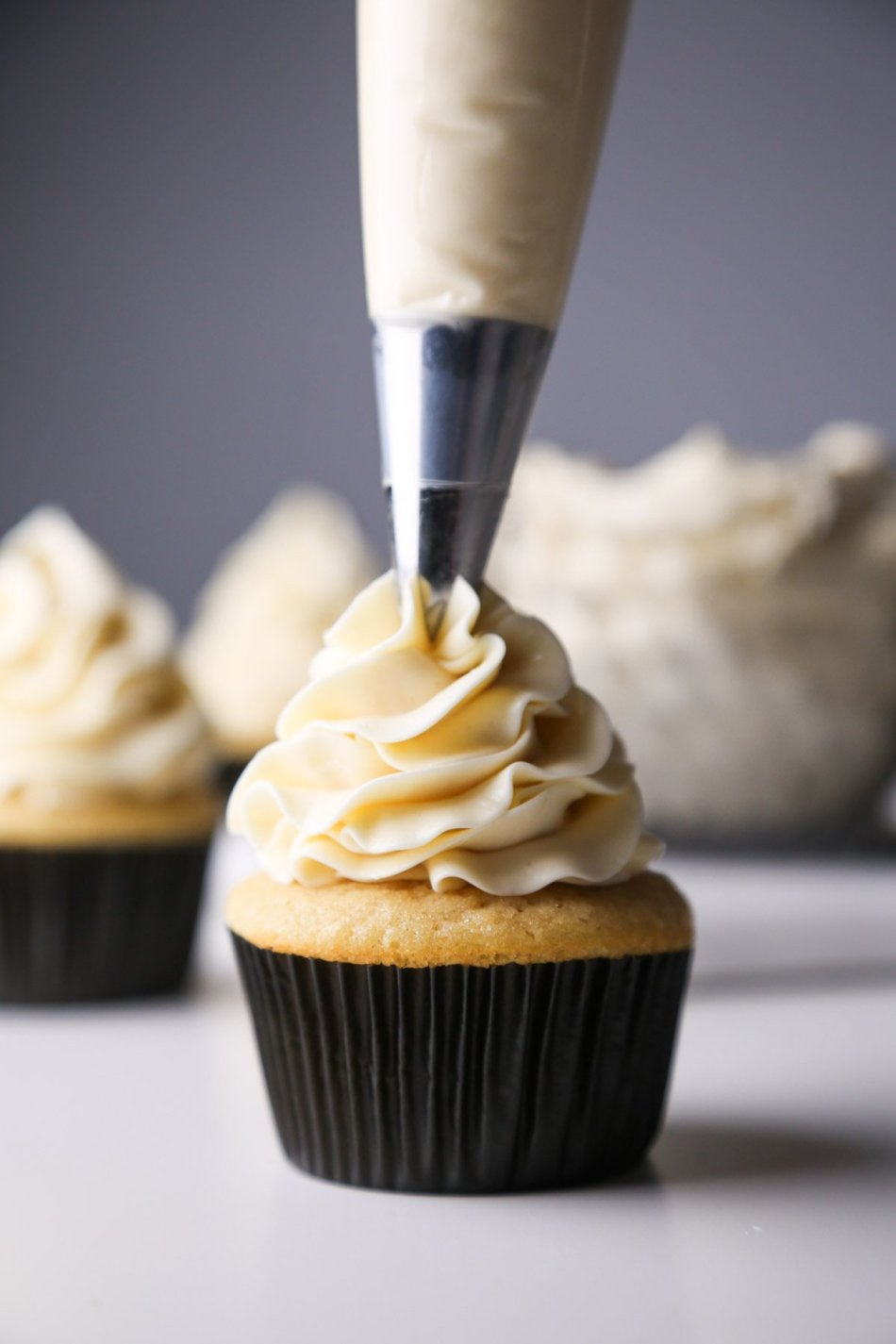 Lightly Sweetened Vanilla Buttercream | Vegan friendly | Wife mama Foodie