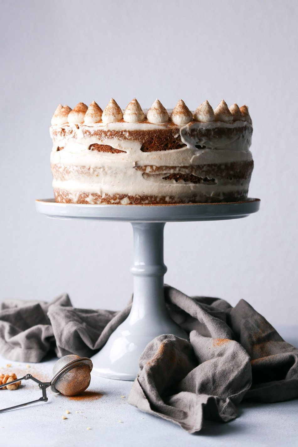 Simple Carrot Cake with Cashew Frosting | Vegan with Gluten-Free Option