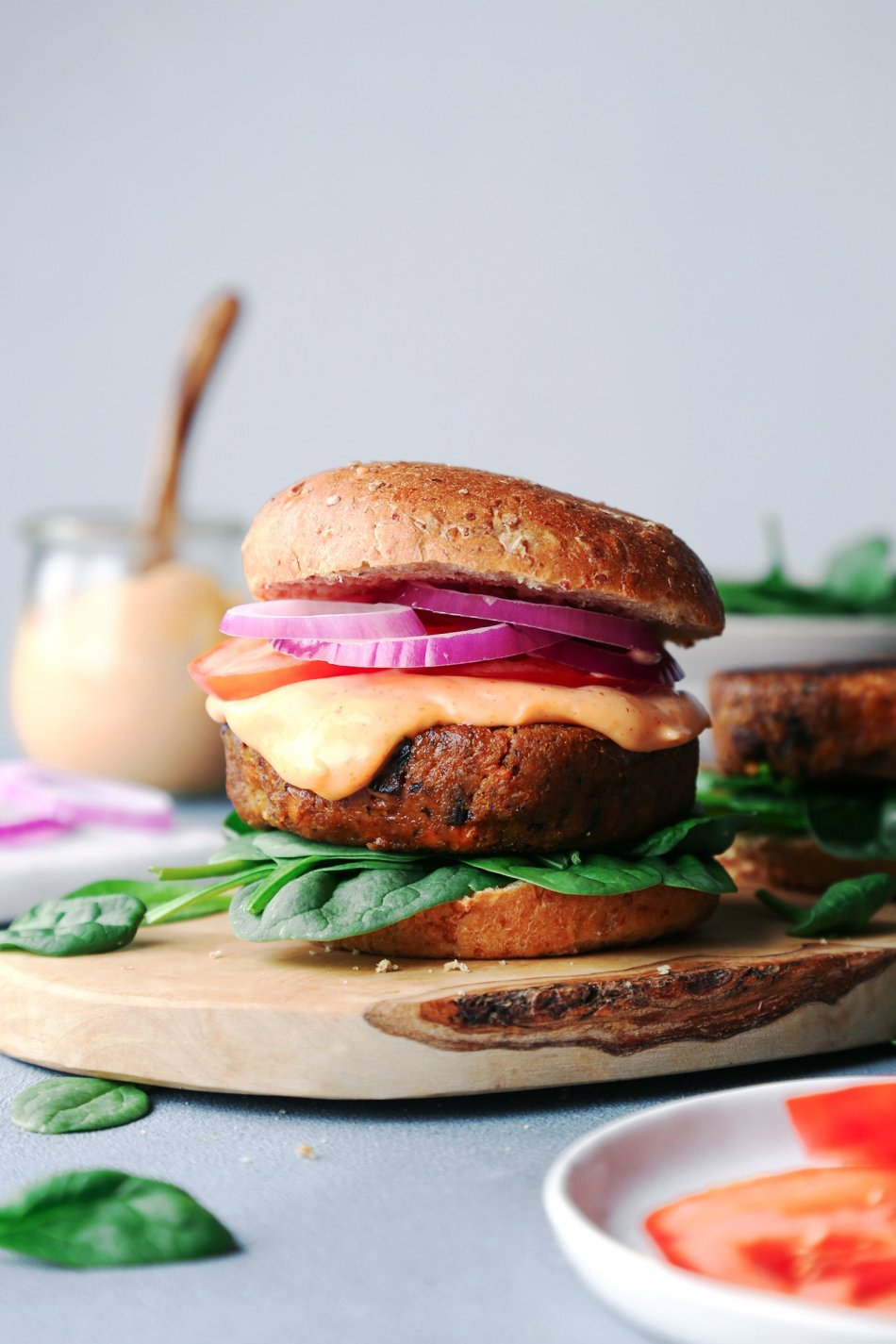 Vegan Veggie Burgers | Free of Grains, Gluten, Dairy, and Eggs | Wife Mama Foodie