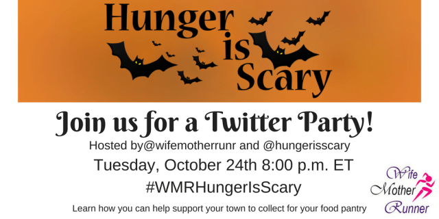 Hunger is Scary Twitter Party