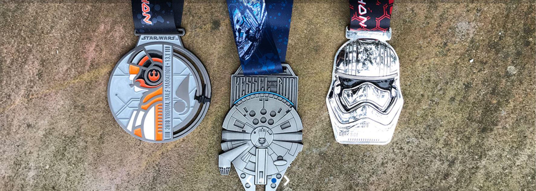 runDisney Star Wars Virtual Half Marathon