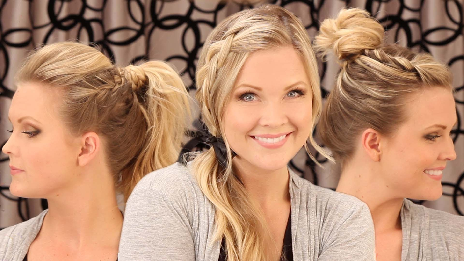 3 Cute On The Go Hairstyles Wife On The Go