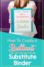 How To Create a Brilliant Substitute Binder