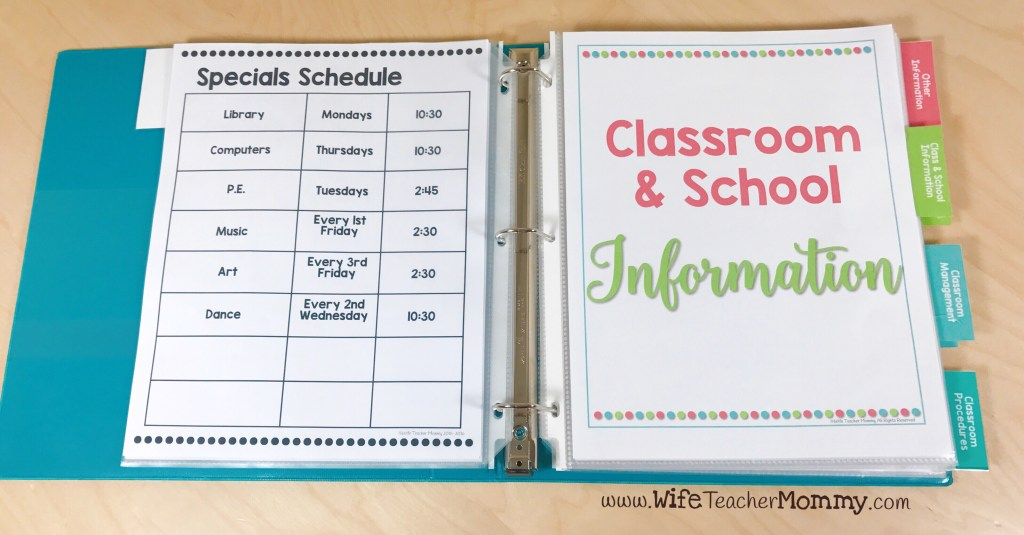 Dividers and tabs for sub binder