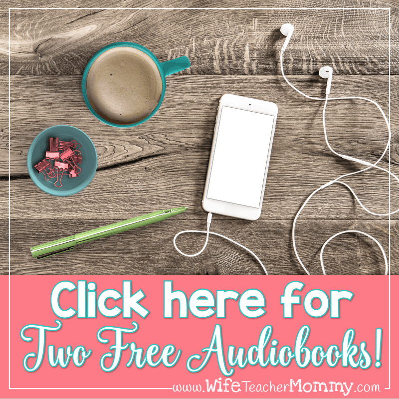 Get two FREE audiobooks from Audible! This is perfect for your commute to and from school.